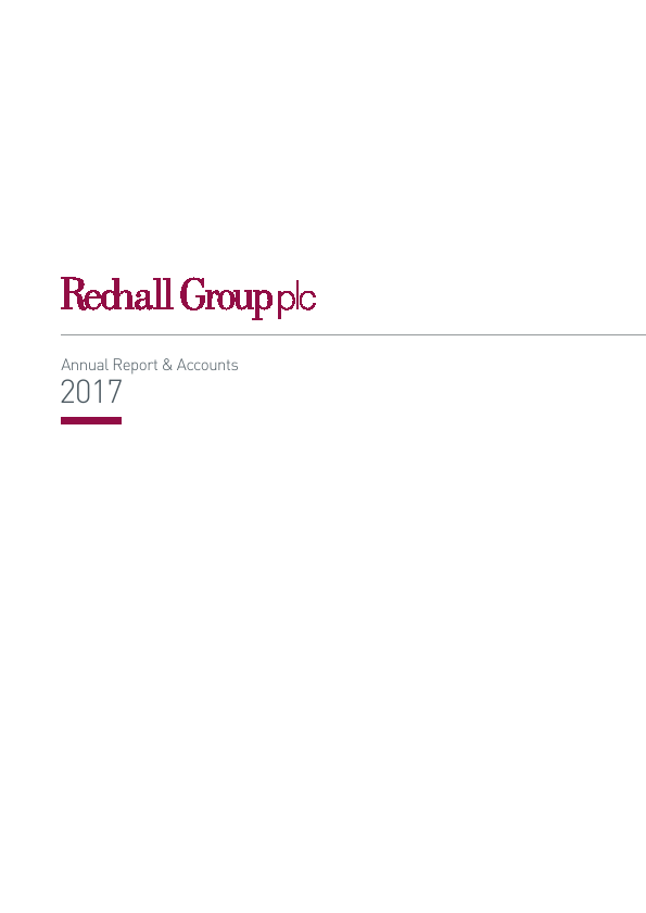 Redhall Group   annual report