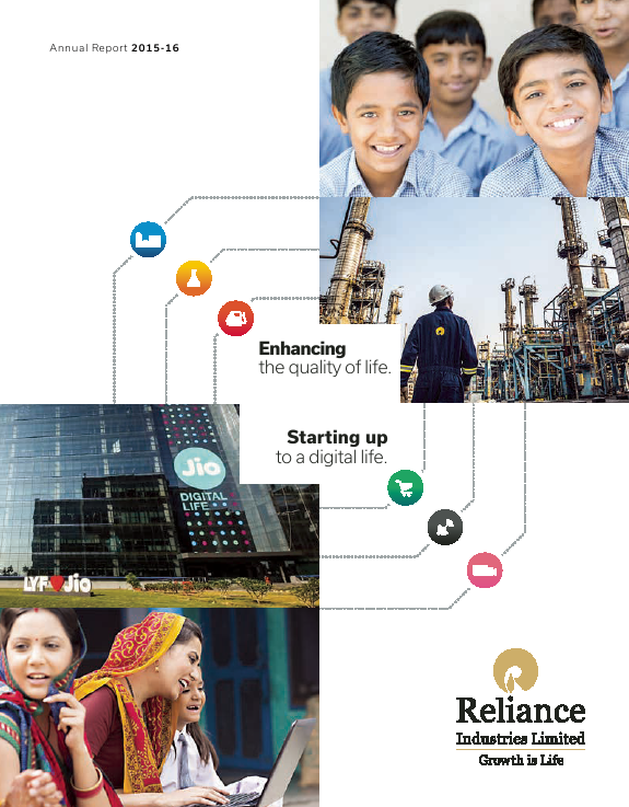 Reliance Industries   annual report