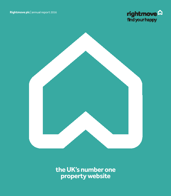 Rightmove Plc   annual report