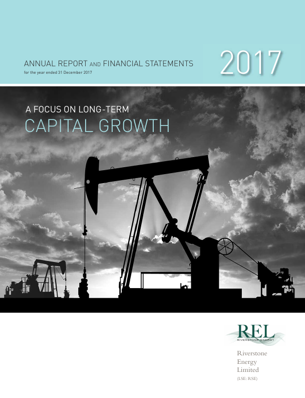 Riverstone Energy   annual report