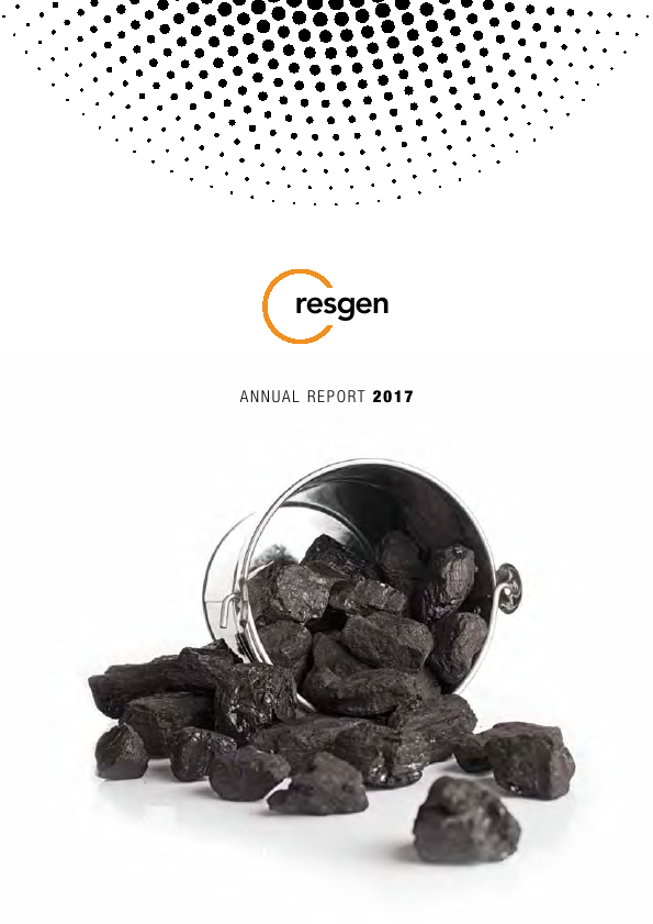 Resource Generation   annual report