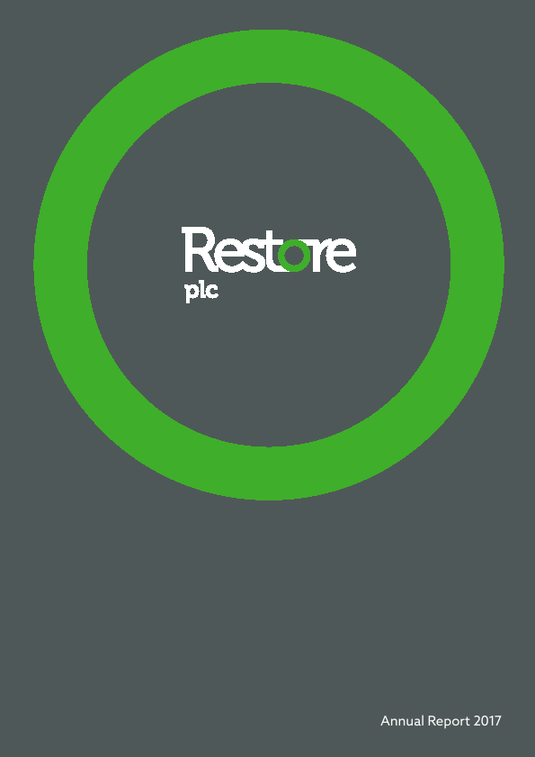 Restore Plc (formally Mavinwood)   annual report