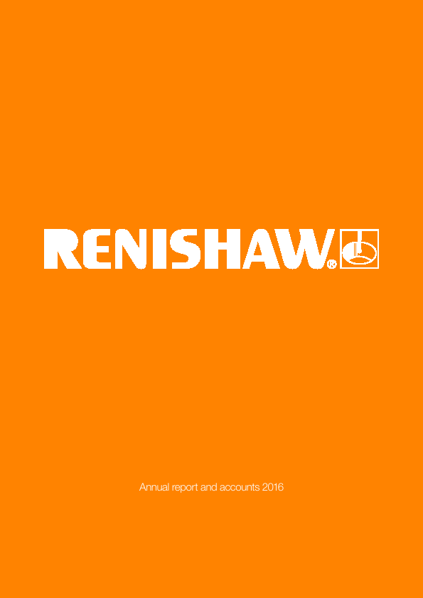 Renishaw Plc   annual report