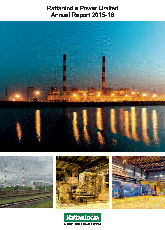 RattanIndia Power   annual report