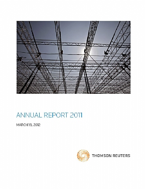 Thomson Reuters   annual report