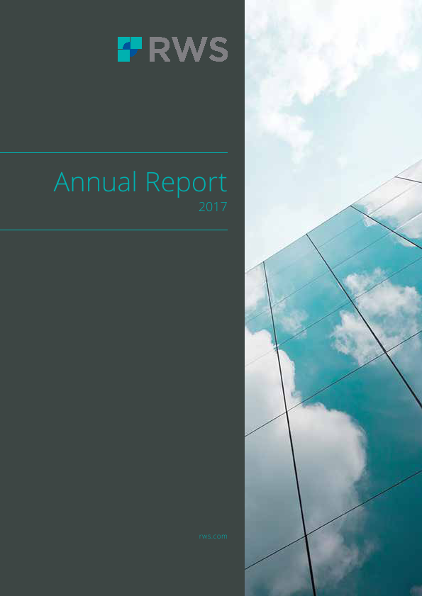 RWS Holdings   annual report
