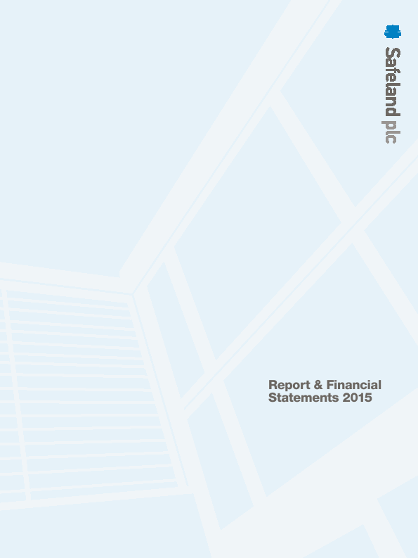 Safeland Plc   annual report