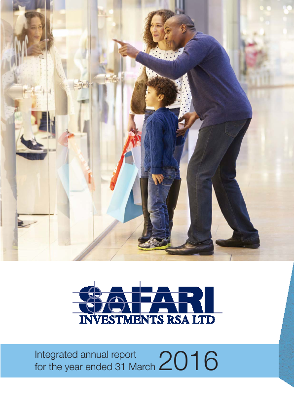 Safari Investments RSA   annual report