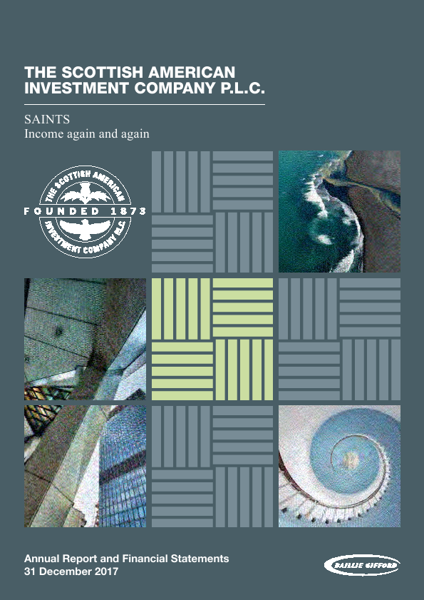 Scottish American Investment Co   annual report