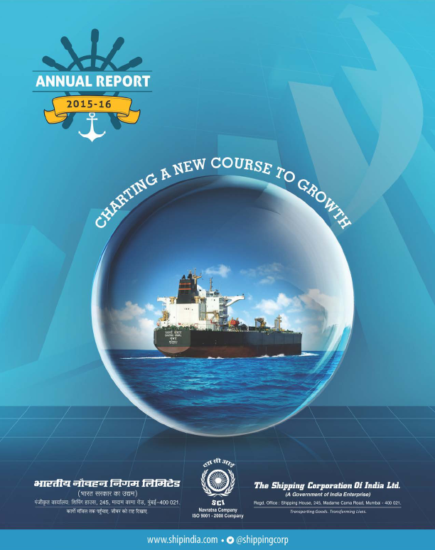 Shipping Corporation of India   annual report