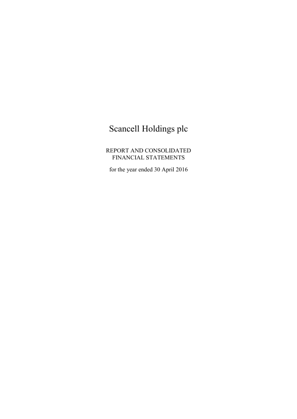 Scancell Holdings Plc   annual report