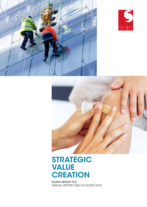 Scapa Group Plc   annual report