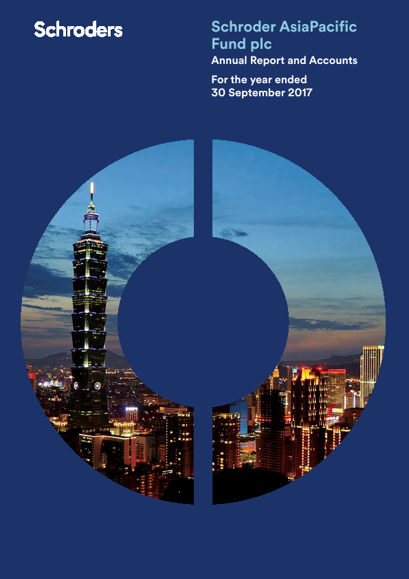 Schroder Asia Pacific Fund   annual report