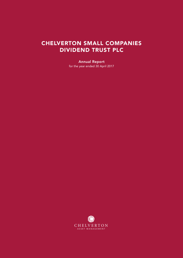 Small Companies Dividend Trust   annual report