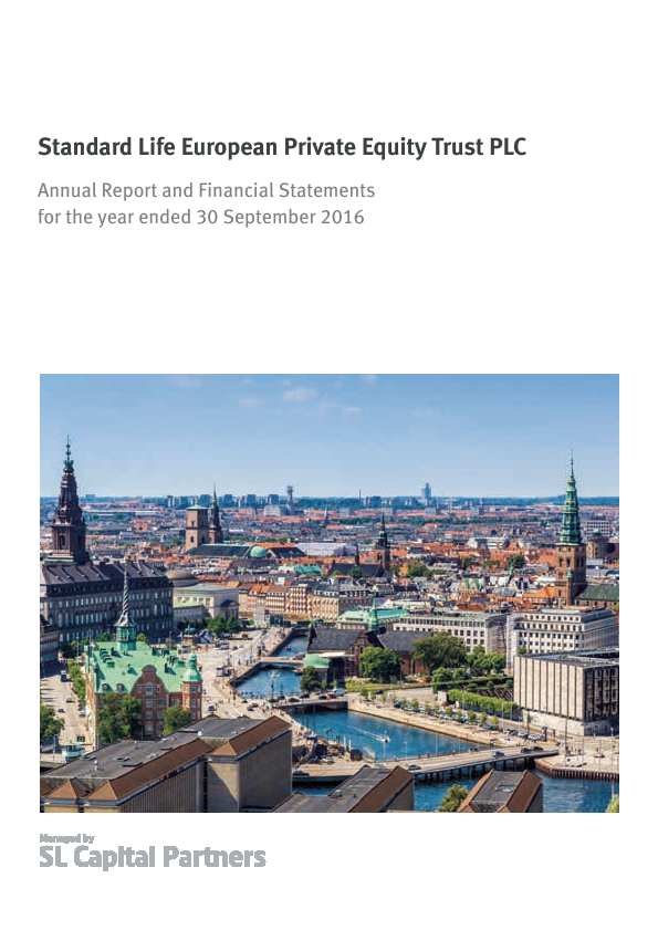 Standard Life European Private Equity Trust   annual report