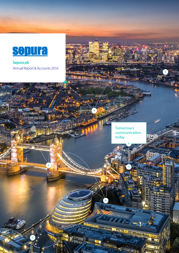 Sepura Plc   annual report
