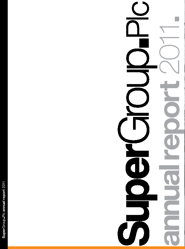 Supergroup Plc   annual report