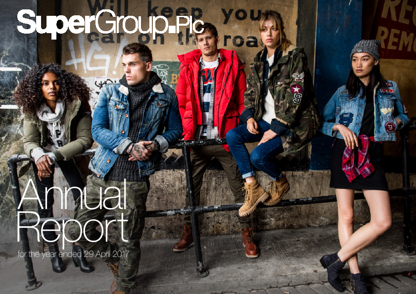 Superdry (previously Supergroup)   annual report