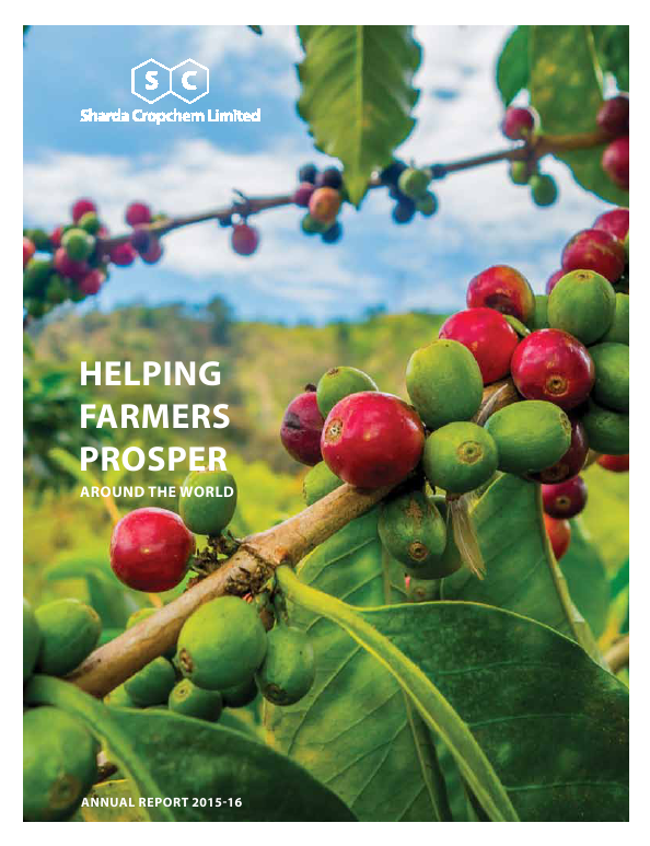 Sharda Cropchem   annual report