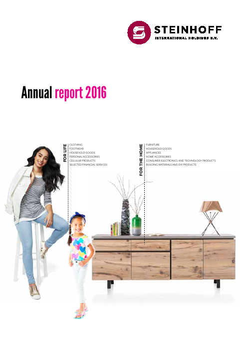 Steinhoff International Holdings   annual report