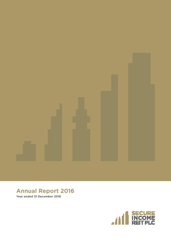 Secure Income Reit Plc   annual report