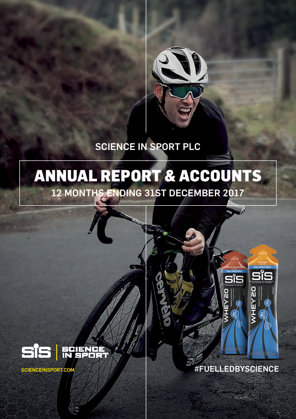 Science In Sport   annual report