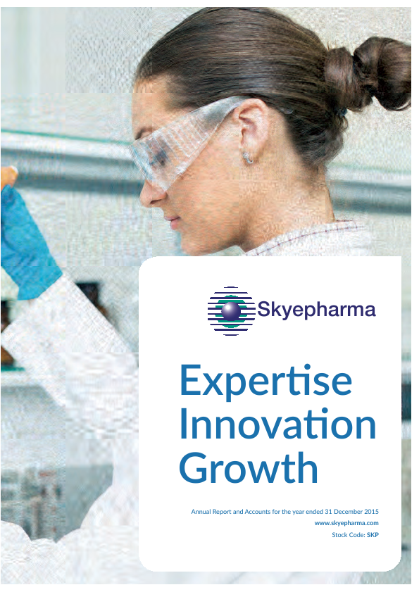 Skyepharma   annual report
