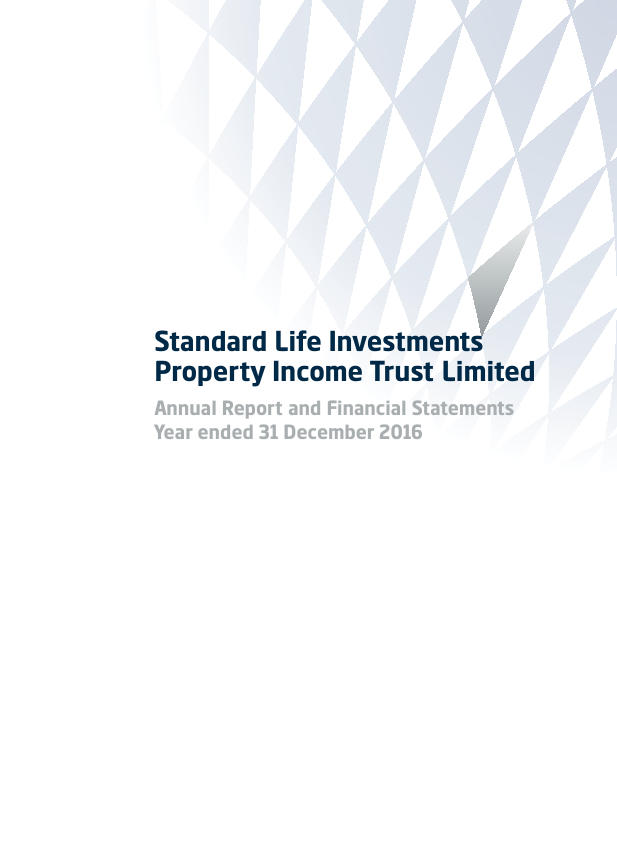 Standard Life Invest Property Income Trust   annual report