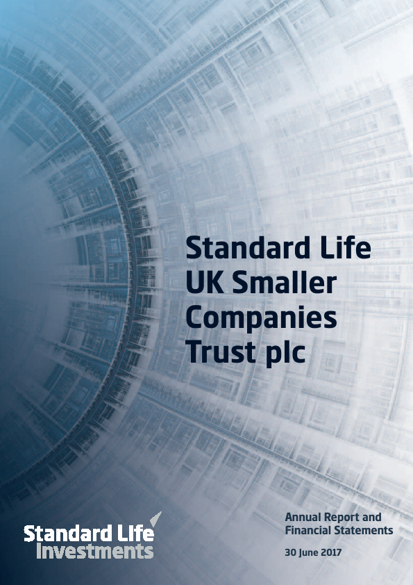 Standard Life UK Smaller Co Trust   annual report