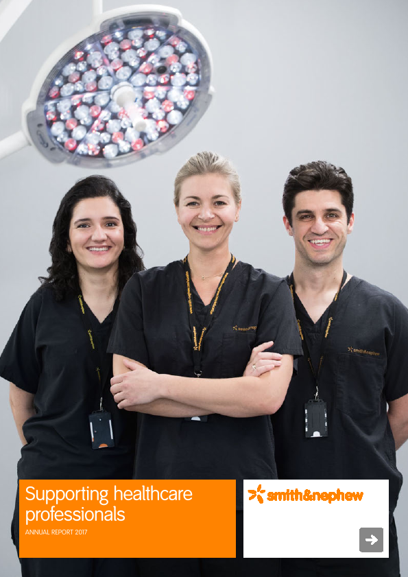 Smith & Nephew   annual report