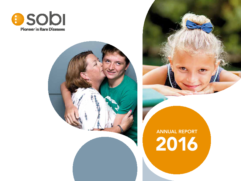 Swedish Orphaniovitrum   annual report