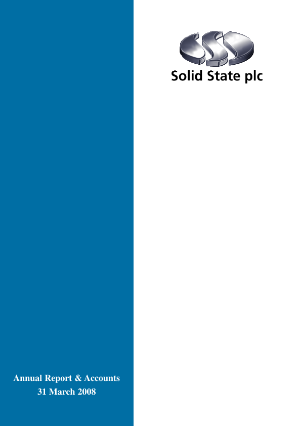 Solid State Plc   annual report