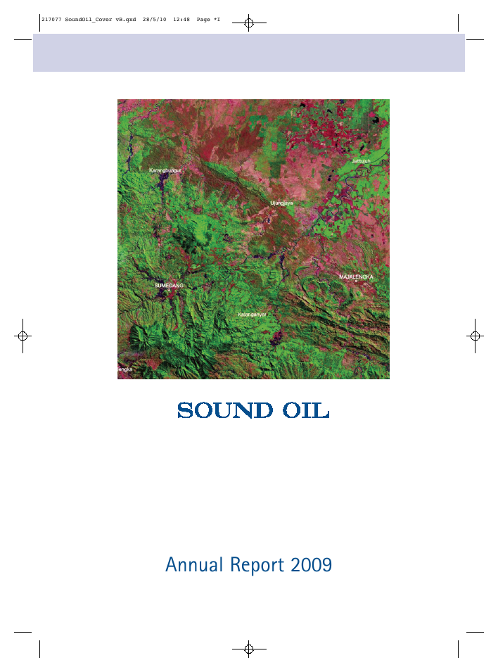 Sound Energy Plc   annual report