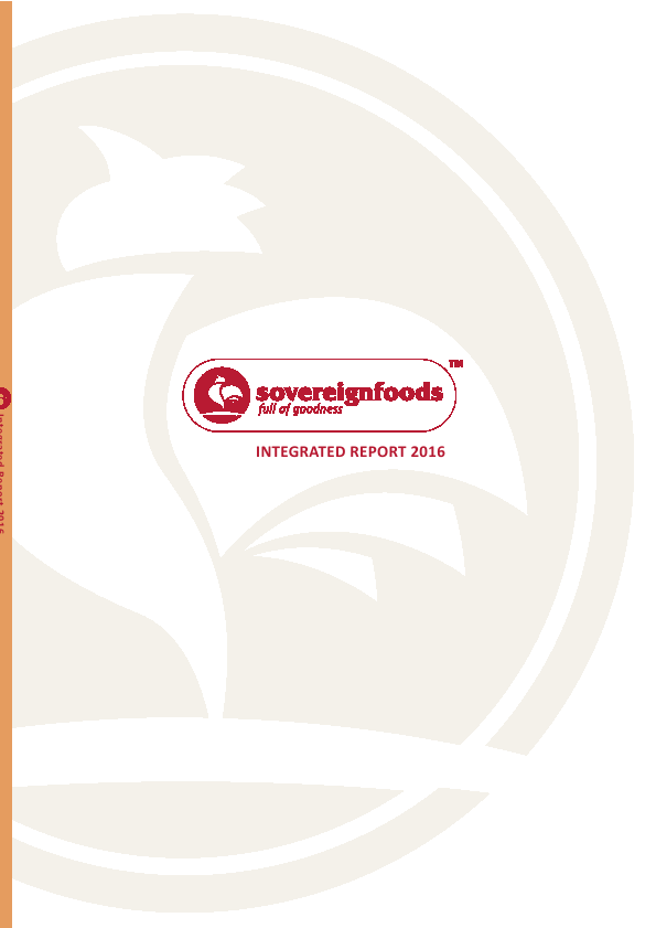 Sovereign Food Investments   annual report