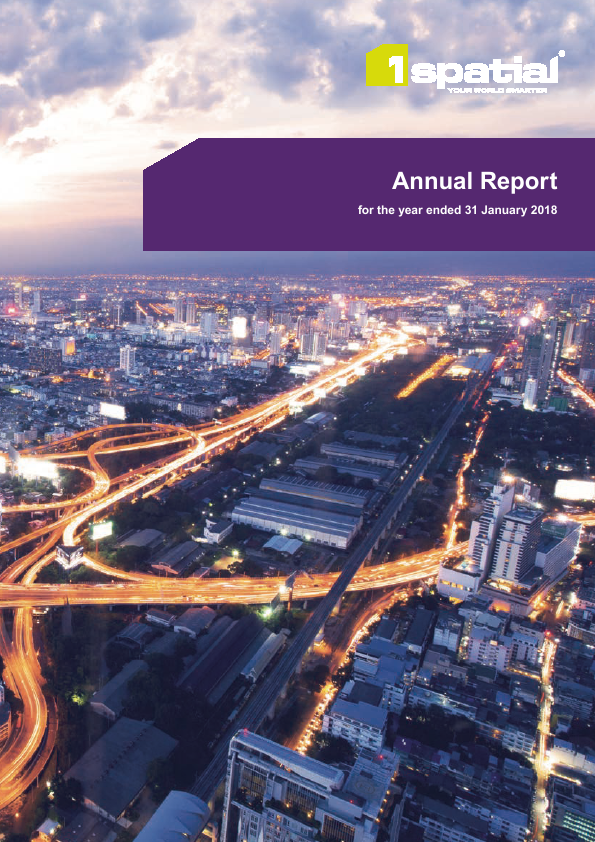 1Spatial Plc   annual report