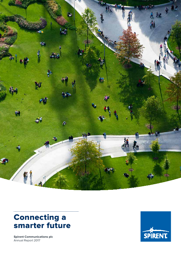 Spirent Communications   annual report