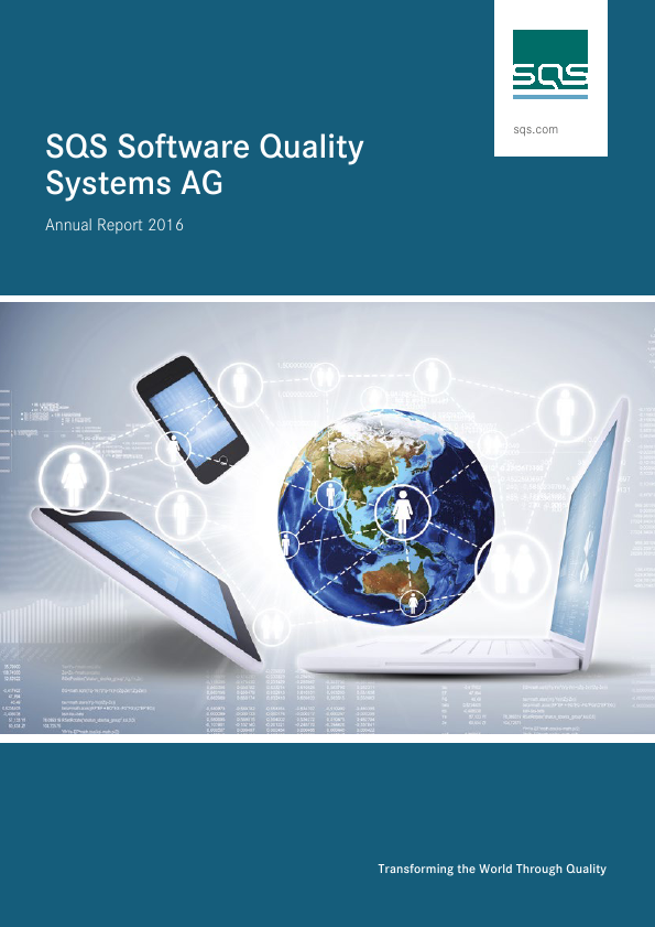 SQS Software Quality Systems Ag   annual report