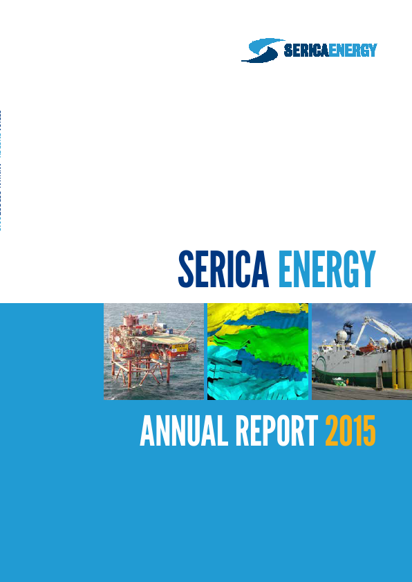 Serica Energy   annual report