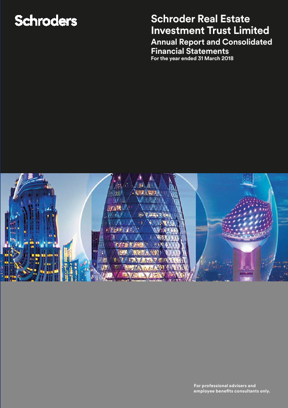 Schroder Real Estate Investment Trust Lt   annual report