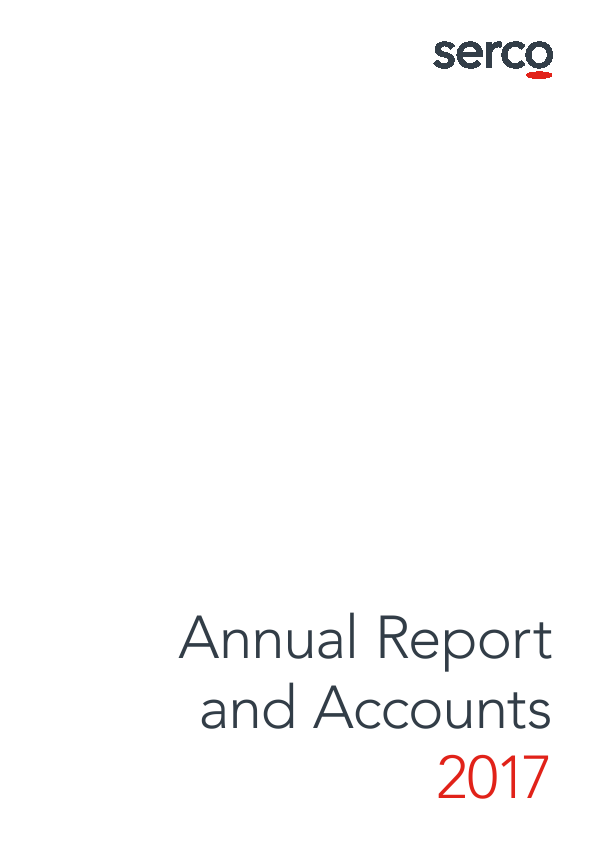 Serco Group   annual report