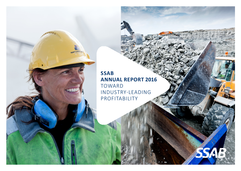 SSAB   annual report