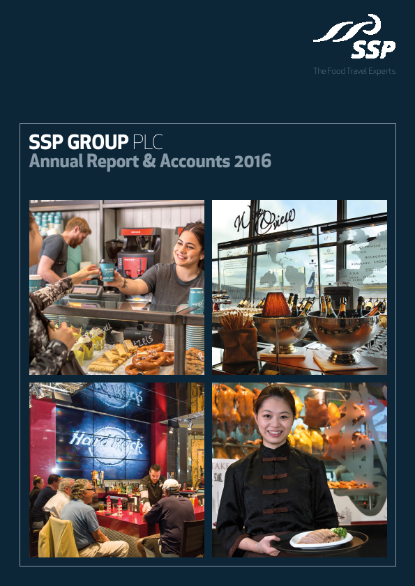 SSP Group Plc   annual report