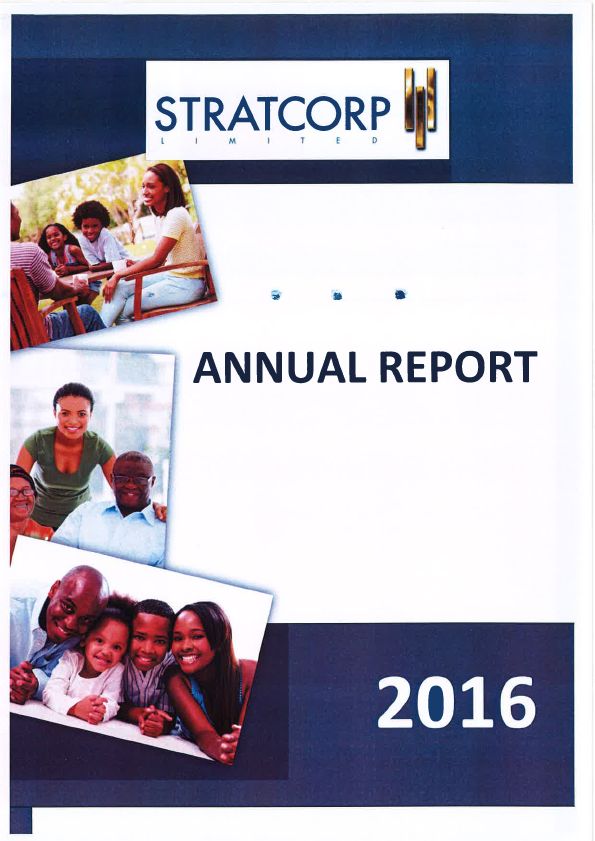 StratCorp   annual report