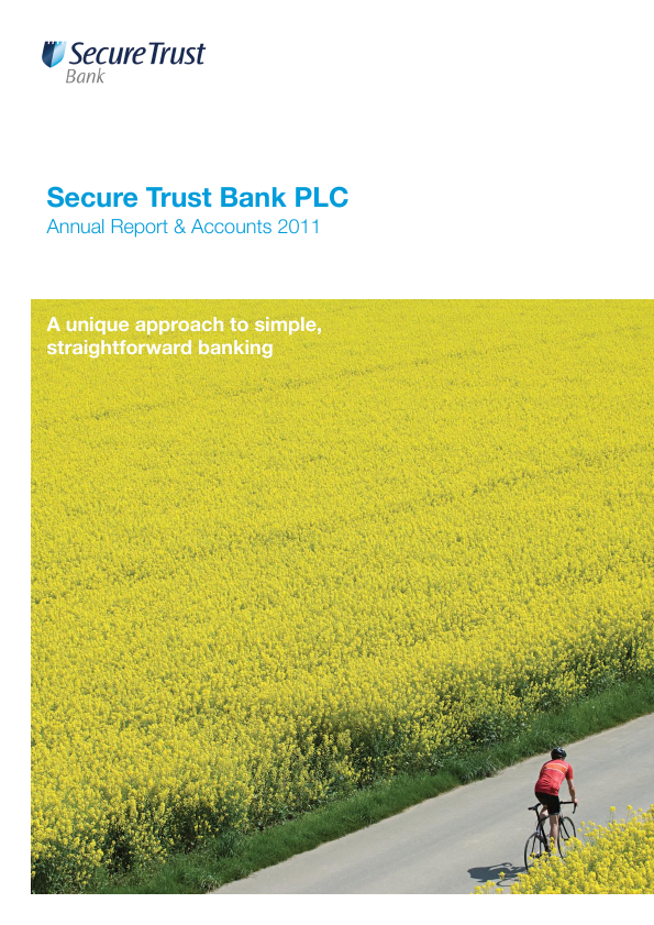 Secure Trust Bank Plc   annual report