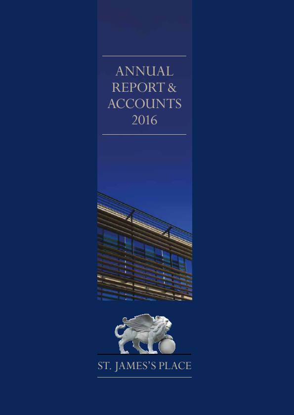 St James Place   annual report