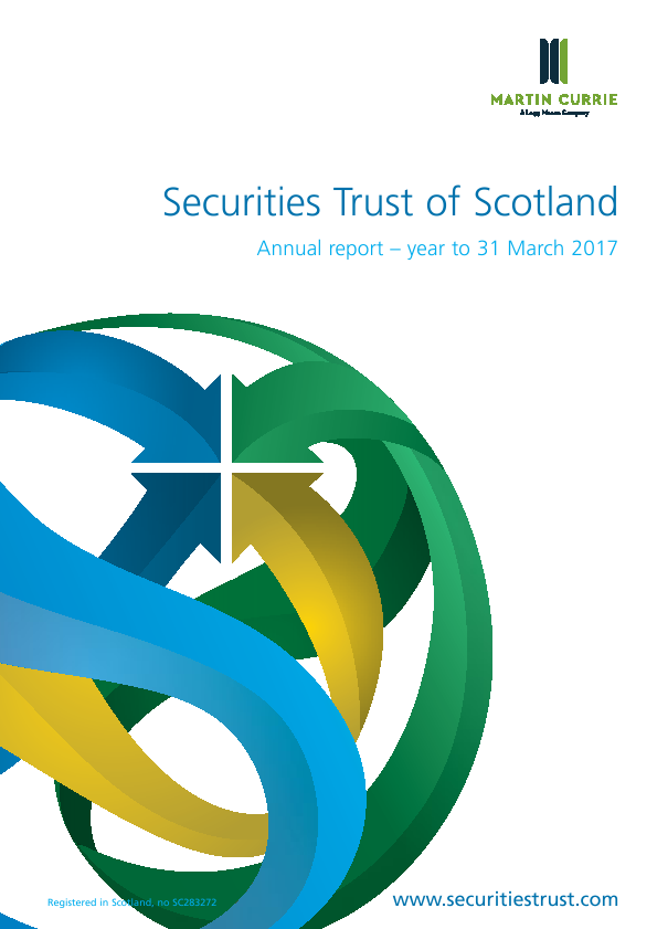 Securities Trust Of Scotland   annual report
