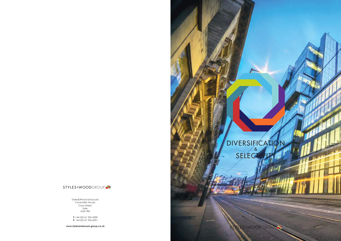 Styles & Wood Group Plc   annual report