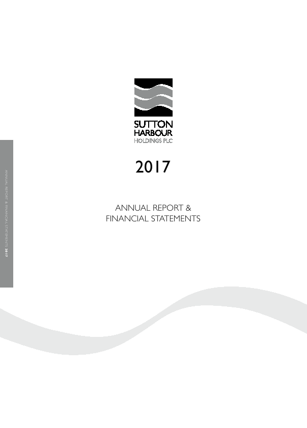 Sutton Harbour Holdings   annual report