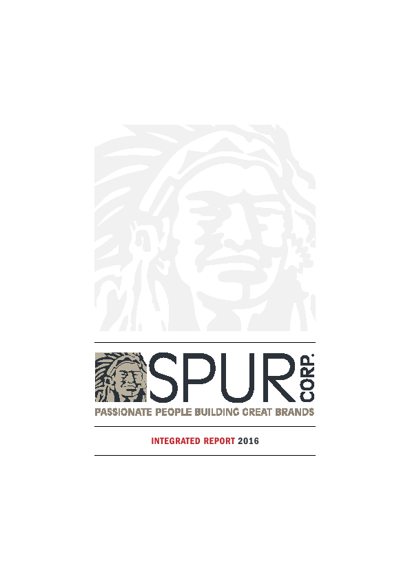 Spur Corporation   annual report