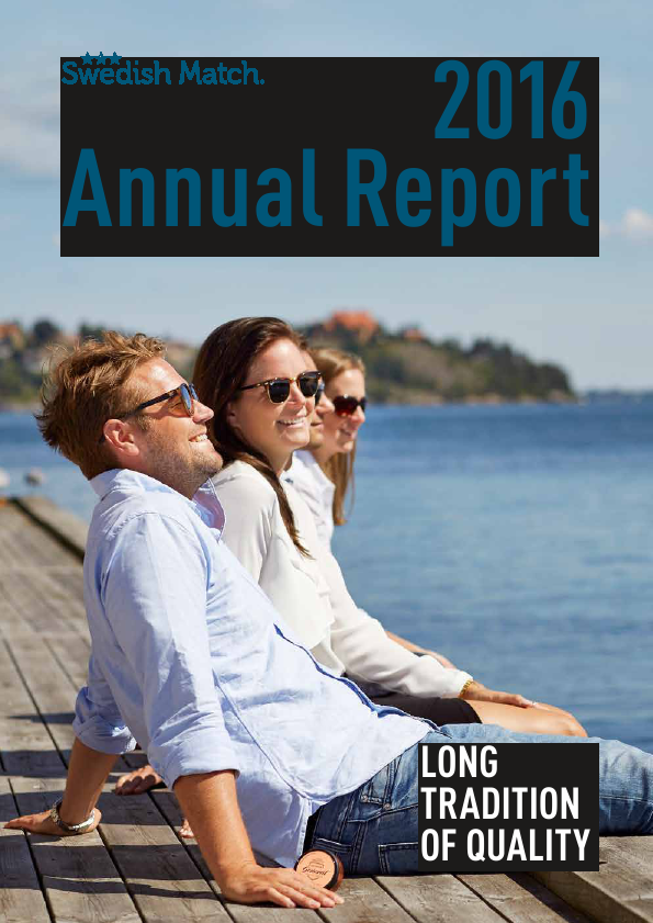 Swedish Match   annual report